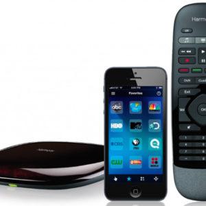 Logitech-Smart-Remote-with-Hub