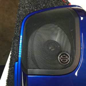2014, 2015 Harley CVO Speaker lid upgrade, 5x7 to 6x9 adapters