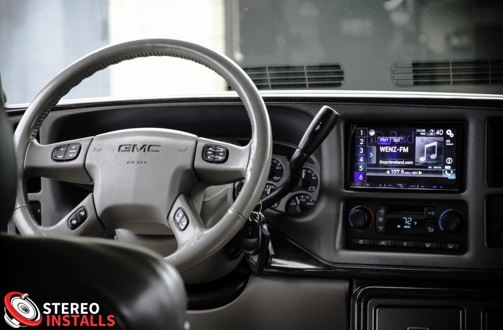 GMC Yukon Denali Stereo System Installation